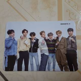 WTT MONSTA X PHOTOCARD / PC