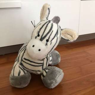 Plush Toy Zebra
