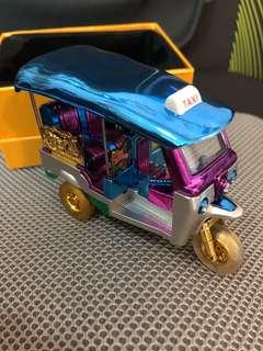 Thailand rickshaw tuk tuk taxi display bangkok gift