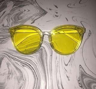 Yellow sunnies