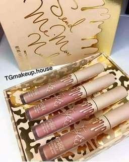 Kylie matte liquid lipstick (per set)