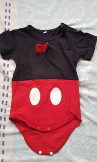Mickey Mouse onesie costume