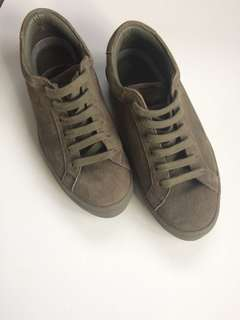 SEED khaki real suede shoes
