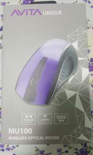 AVITA wireless stylish pink colour mouse