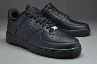 Nike Air Force 1 07 Low full Black High premium Original