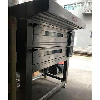 2 Deck Oven