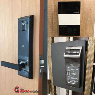 Schlage Fingerprint Digial Lock + Gateman WF20 for BTO Bundle at $1180