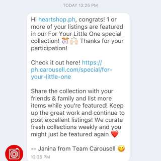 Wow 4th time! Thanks carousell!
