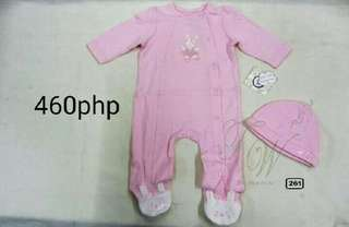 Baby's Jumpsuit with cap from US