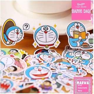 Set of 39pcs Doraemon Cartoon Series Sticker Pack