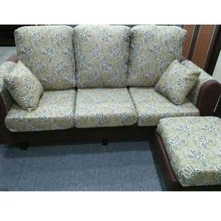 L-SHAPE SOFA 3 SEATER