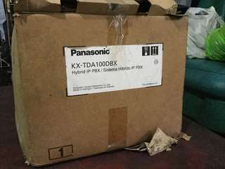 Panasonic pbx telephone switchboard
