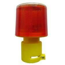 Solar Powered LED Strobe Warning Light