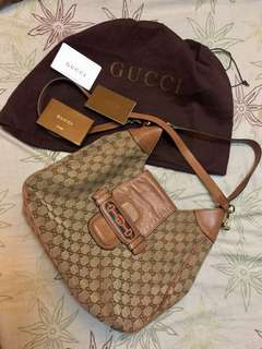 Authentic Gucci two way bag