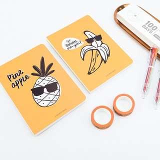 Cool Yellow Fruit 100 Days Planner Box Set