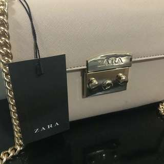 ZARA Chain Sling Bag