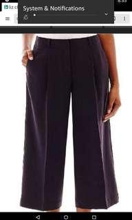 👍Liz Claiborne  Square Pants