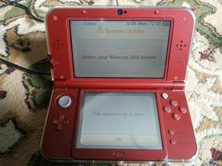 New 3DS XL Red Used US