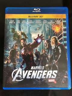 3D Blu Ray Avengers