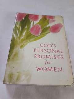 God's personal promises for Women