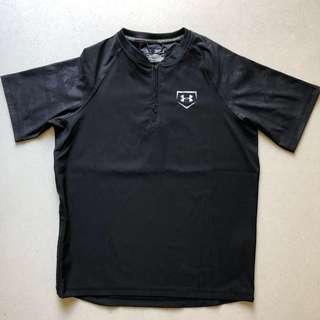 Under Armour Heatgear Short Sleeve T-Shirt, Size YXL