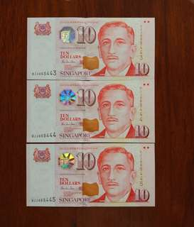 Error Sg $10 HTT paper 3 runs error in 2nd piece