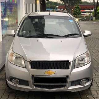 Chevrolet AVEO Cheap Rental! Grab Friendly*