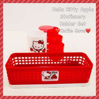 *NEW IN IN SG* Hello Kitty Apple Stationery Holder
