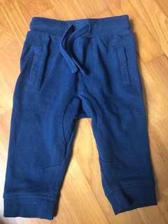 Fox jogger navy blue pants