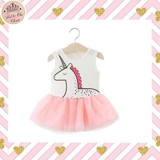 🎊 NEW ARRIVAL! 🦄 Kids & Baby Unicorn Tulle Dress