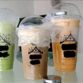 Bubuk Minuman Thai Tea Green Tea Dan Pudding