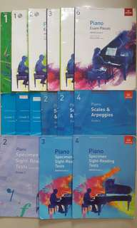 ABRSM Piano Books (from $0)