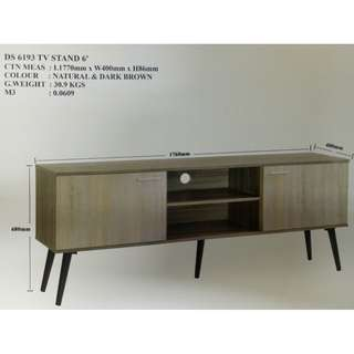 DS 6193 TV STAND 6'