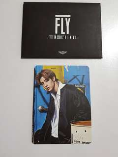 GOT7 Official Fly In Seoul Mark Photocard