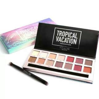 OPEN PO Focallure Tropical Vacation Eyeshadow