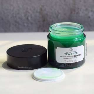 The body shop tea tree night mas