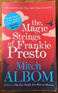 MITCH ALBOM The Magic Strings of Frankie Presto Book Novel