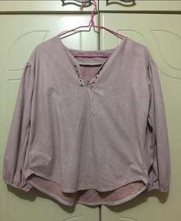 Casual pink blouse