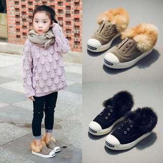 🚚 女童毛毛鞋👟
