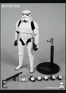 Force ToysStar Wars Storm trooper hot toys hottoys sideshow