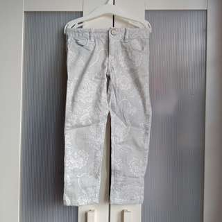 GAP kids 5y floral denim