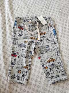Baby Gap printed pants 6-12months