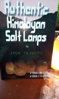 Himalayan salt lamps and chunks