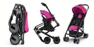 Preloved Recaro Easylife Stroller (Pink)