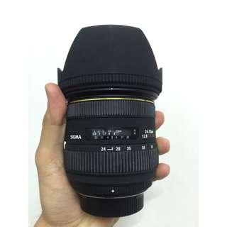 SIGMA 24-70MM F2.8 EX HSM (NIKON)