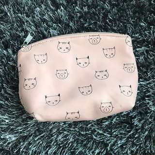 Forever 21 Cats Pouch