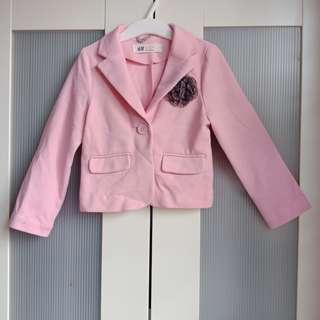 H&M 3-4y pink jacket