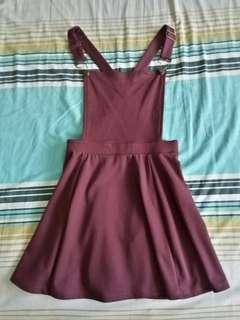Cotton On Jumper Dress w/ Cross Back
