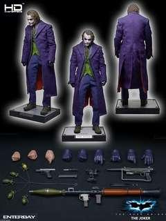 Enterbay joker 1/4 scale Joker hottoys hot toys sidehow
