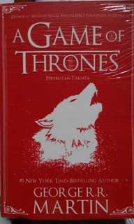 Jual cepat Novel Game of Thrones: A song of Ice and Fire
